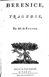 Berenice, tragédie