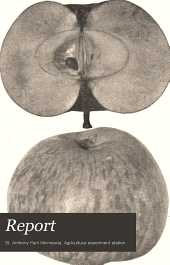 Annual Report of the Agricultural Experiment Station of the University of Minnesota: Issues 83-86