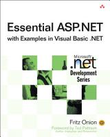 Essential ASP NET with Examples in Visual Basic  NET PDF