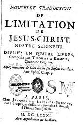 Nouvelle traduction de l'Imitation de Jésus-Christ divisée en quatre livres