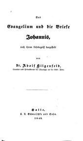 Das Evangelium und die Briefe Johannis