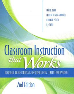 Classroom Instruction that Works Book