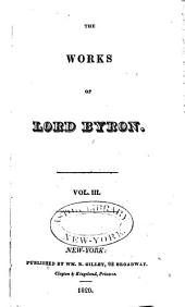 The Works of Lord Byron: Volume 3