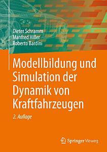 Modellbildung und Simulation der Dynamik von Kraftfahrzeugen PDF