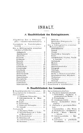 Katalog der handbibliotheken des katalogzimmers und lesesaales der K K  Universit  ts bibliothek in Wien PDF