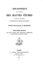 Les tables eugubines: texte, traduction et commentaire, avec une grammaire et une introduction historique, Numéro26