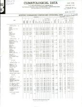 Climatological data. New York: Volumes 84-85