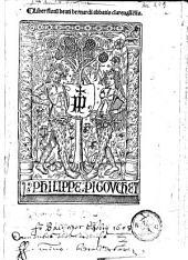 Liber Floru[m] beati bernardi abbatis clareualle[n]sis