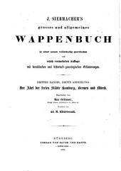 J. Siebmacher's grosses und allgemeines Wappenbuch: Der Luxemburgische Adel / bearb. von Max Gritzner ; ill. von Ad. M. Hildebrandt, Band 3
