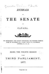 Journals of the Senate of Canada: Journaux Du Sénat Du Canada, Volume 11