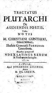 Tractatus de audiendis poetis