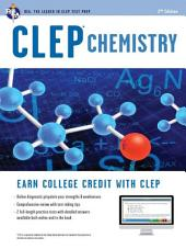 CLEP Chemistry Book + Online