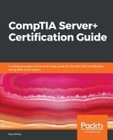 CompTIA Server  Certification Guide PDF