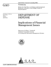 Department of Defense implications of financial management issues