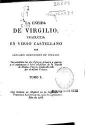 La Eneida de Virgilio: Volumen 1