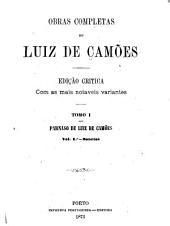 Parnaso de Luiz de Camões