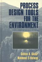Process Design Tools for the Environment PDF
