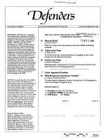 Defenders PDF