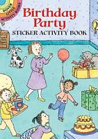 Birthday Party Sticker Activity Book PDF
