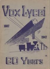 Vox Lycei 1946-1947