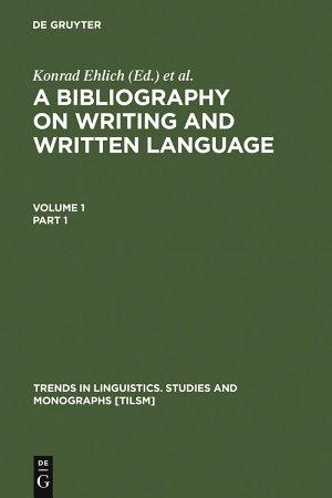 A Bibliography on Writing and Written Language PDF