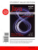 Student Value Edition for Java How to Program  Early Objects PDF