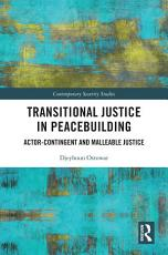 Transitional Justice in Peacebuilding PDF