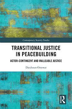 Transitional Justice in Peacebuilding PDF