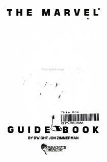 The Marvel X Men Guide Book PDF