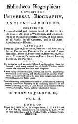 Bibliotheca Biographica Book PDF