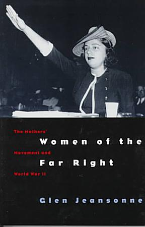 Women of the Far Right PDF