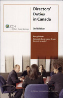 Directors  Duties in Canada PDF