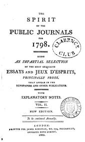 The Spirit of the public journals