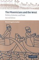 The Phoenicians and the West PDF
