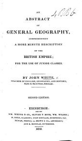 An Abstract of General Geography. Second edition