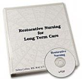 Restorative Nursing Care Plans: Restorative Program for Long Term Care
