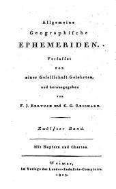Allgemeine geographische Ephemeriden: Band 12