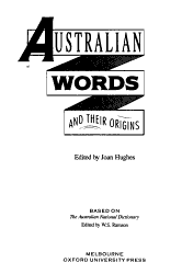 Australian Words And Their Origins Book PDF