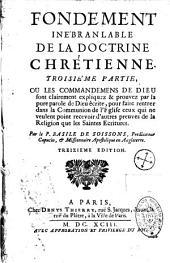 Fondements innebranlable de la doctrine chrestienne