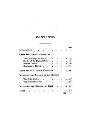 Manual of Mythology PDF