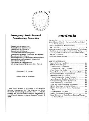 Arctic Bulletin