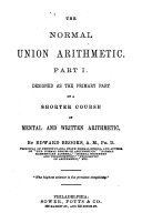 The Normal Union Arithmetic