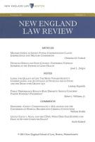 New England Law Review  Volume 48  Number 2   Winter 2014 PDF