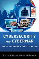 Cybersecurity and Cyberwar PDF