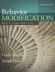 Behavior Modification Book PDF