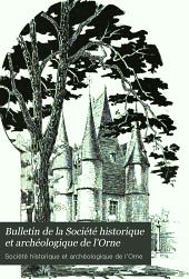 Bulletin de la Société historique et archéologique de l'Orne: Volume22