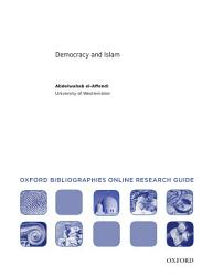 Democracy And Islam Oxford Bibliographies Online Research Guide Book PDF