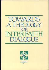 Towards a Theology for Inter faith Dialogue PDF
