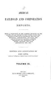 American Railroad and Corporation Reports PDF