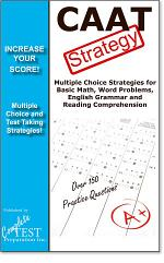 CAAT Test Strategy! Winning multiple choice strategies for the Canadian Adult Achievement Test CAAT